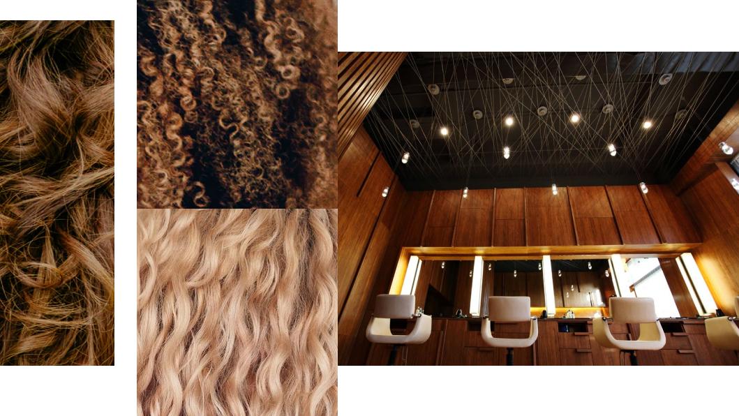<p>Слева направо: классический, скрученный и свободный типы завитков, салон для кудрявых&nbsp;OuiDad, Санта-Моника. Источник: сайт салона.</p>