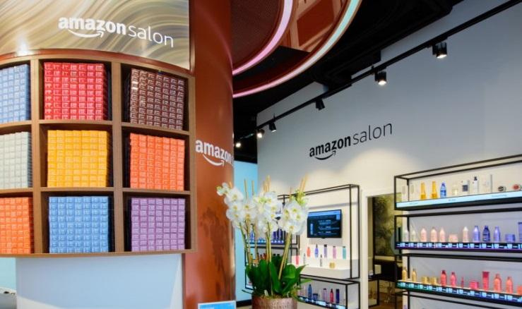 Amazon открыла экспериментальный диджитал-салон красоты